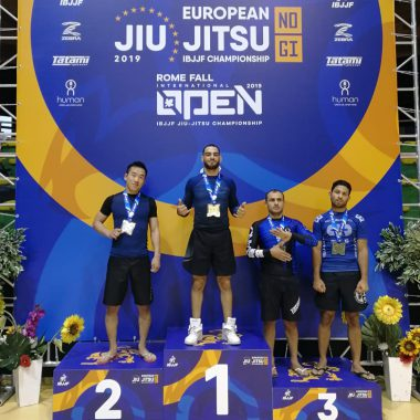 BJJ no-Gi Vize-Europameistertitel für Top Brother Schüler Johann Han
