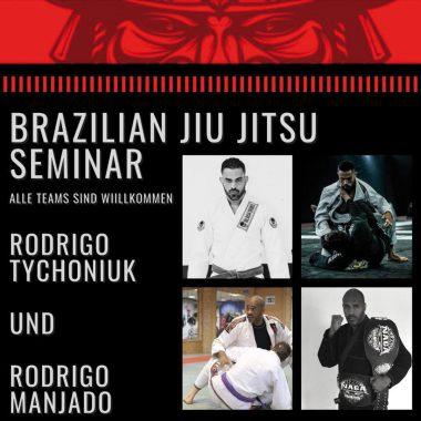 Offenes BJJ Seminar mit Rodrigo Tychoniuk und Rodrigo Manjado am 20.09.2020