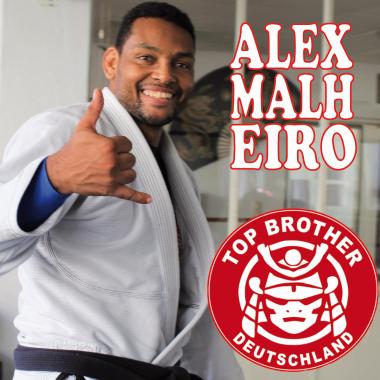 Professor Alex Malheiro vertritt Top Brother Deutschland bei NAGA Turnier in Limburg